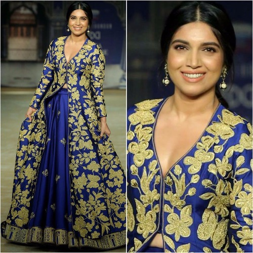ICW 2017 Bhumi Pednekar's Ramp Walk For Reynu Tandon