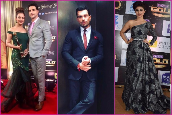 Who Wore What: Gauhar Khan, Divyanka Tripathi, Mouni Roy and Others At Zee Gold Awards 2017