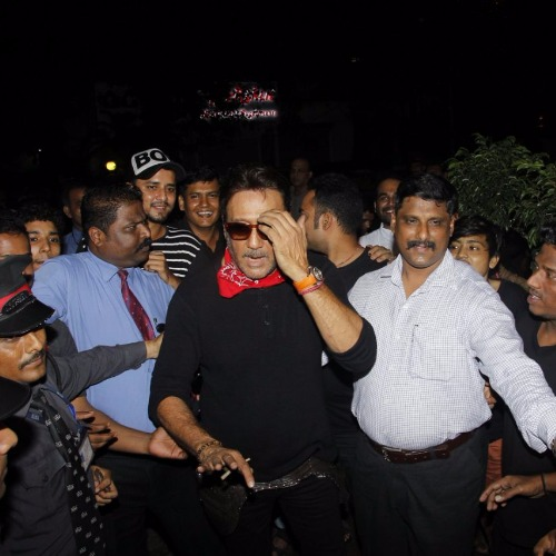 Jackie Shroff attend Jitesh Birthday Bash