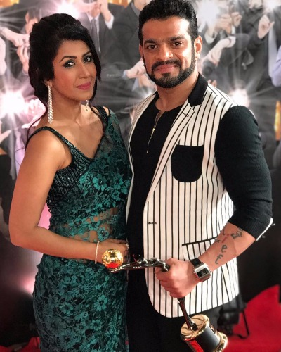 Karan Patel at Zee Gold Awards 2017