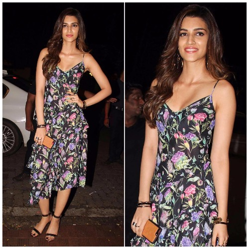Kriti Sanon Jackie Shroff attend Jitesh Birthday Bash
