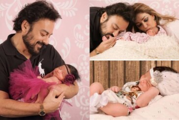PHOTOS: Singer Adnan Sami Shares The Cutest Pictures Of New Born Daughter Medina