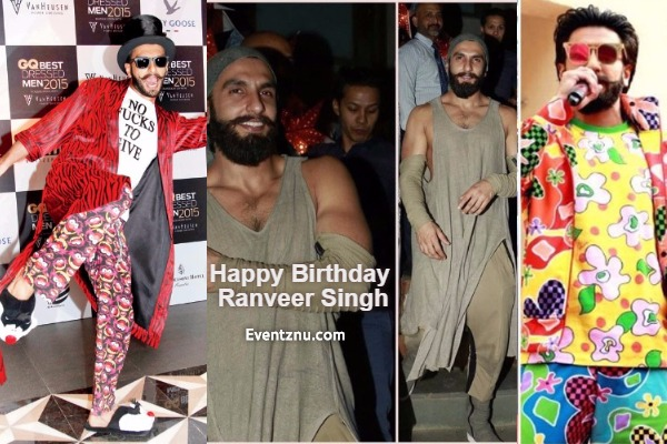 Birthday Special: 5 Times When Ranveer Singh Wore Most Wackiest Outfits Like No Other!
