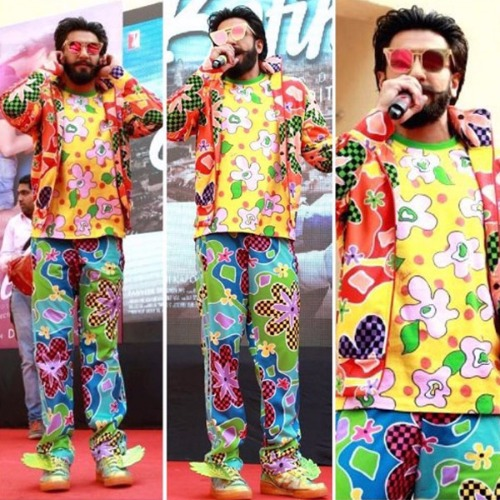Birthday Special Ranveer Singh Wore Most Wackiest Outfits