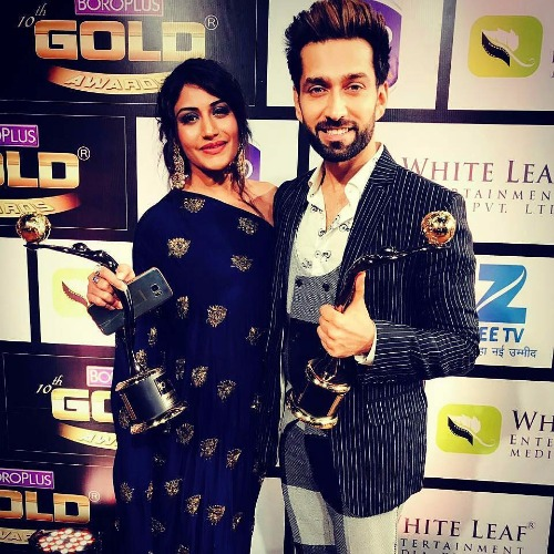 Surbhi Chandna at Zee Gold Awards 2017