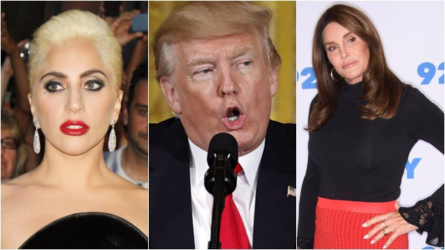 Donald Trump Ban Transgenders In The Military: Celebs Lady Gaga, Jenner Express Anger