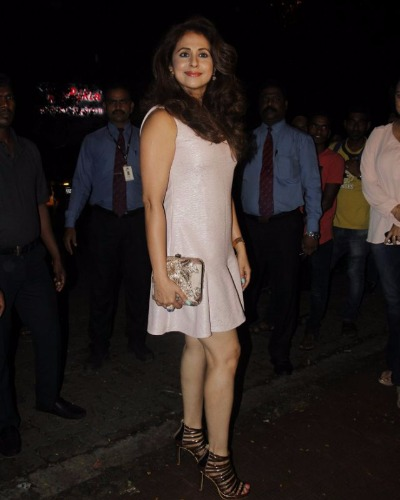 Urmila Matondkar attend Jitesh Birthday bash