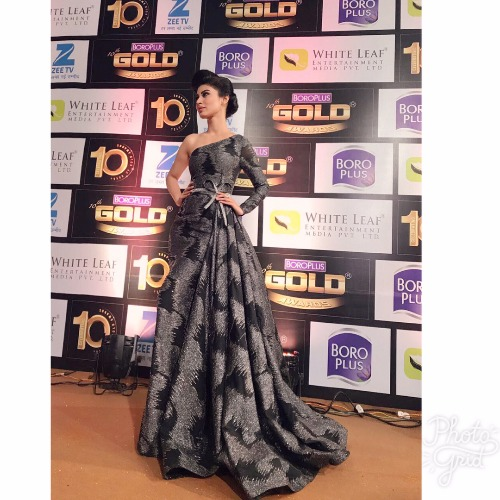 Mouni Roy at Zee Gold Awards 2017