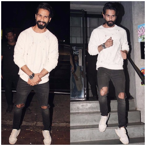 Shahid Kapoor attend Jitesh Birthday bash