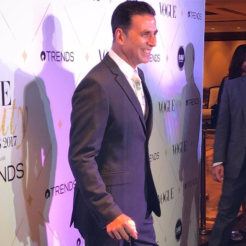 Akshay Kumar at Vogue Beauty Awards 2017