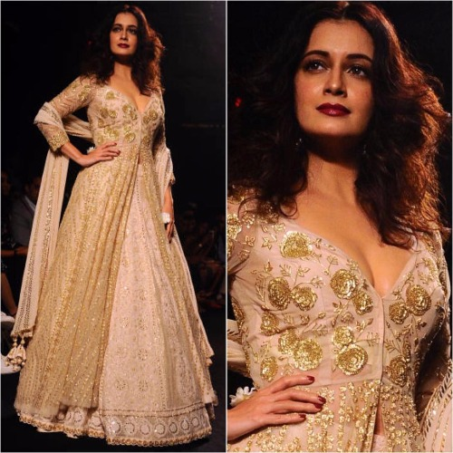 LFW 2017 Finale Dia Mirza showstopper