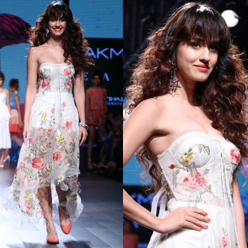 Lakme Fashion Week Show Stopper Disha Patani Ritu Kumar's Ensemble
