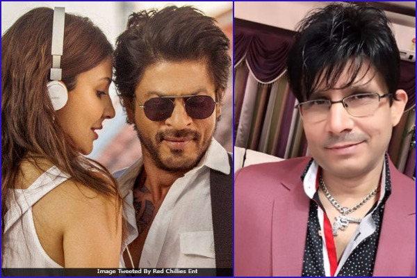 KRK and Public's Mixed Reaction on Shah Rukh Khan-Anushka Sharma Starrer Jab Harry Met Sejal!