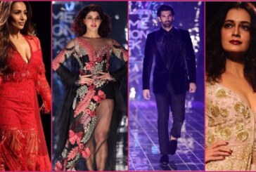 LFW 2017 Finale: Sunny Leone, Jacqueline Fernandez, Malaika Arora Set The Ramp on Fire As Showstoppers!