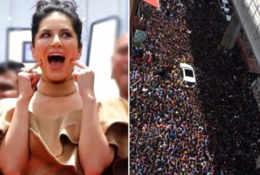 Watch: Sunny Leone Visits Kochi, The Number Of Fans Turned Up Will Leave You Amazed!