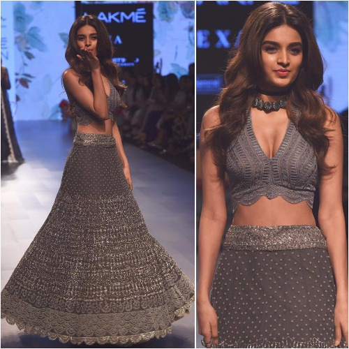 LFW 2017 Finale Nidhhi Agerwal showstopper