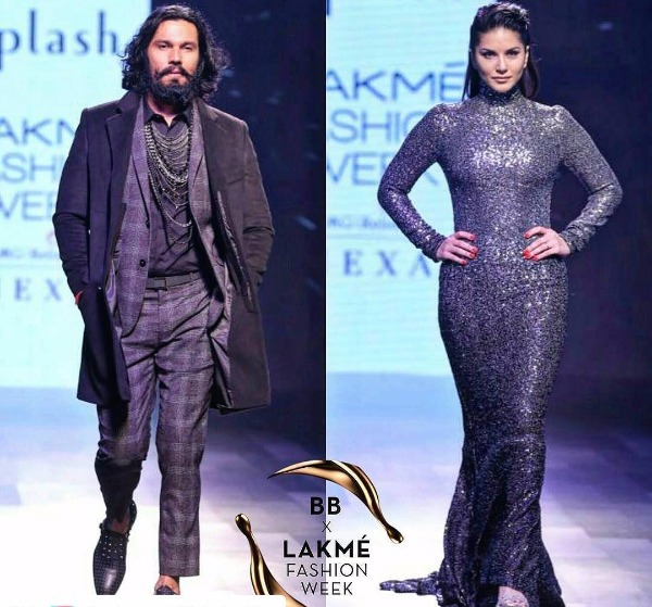 LFW 2017 Finale Sunny Leone showstopper