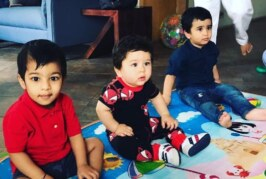 Kareena's Son Taimur, Tusshar's Son Laksshya's Playtime Photo Is Overloaded With Cuteness