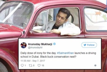 Ultimate Irony! Salman Khan Inaugurates Driving Centre in Dubai, Twitterati Lash Out With Sarcasm!