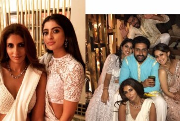 PICS : Sara Ali Khan, Twinkle Khanna, Sonali Bendre & Others at Designer Abu Jani Sandeep Khosla's Diwali Party