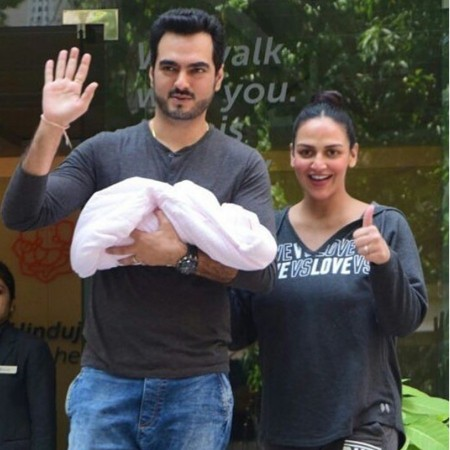 Esha Deol Blessed With Baby Girl