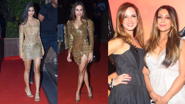 Gauri Khan's Halloween Party: Suhana Khan, Malaika Arora, Sussanne Khan's Style Raised The Temperature