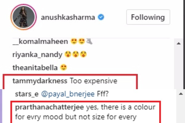 Anushka Sharma Fans React To high Prices Of 'NUSH'