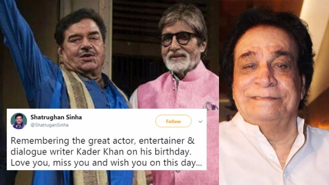 Tweeple Called Sonakshi Sinha as Reena Roy, After Shatrughan Sinha Mistakenly Wished Kader Khan With Big B's Pic!