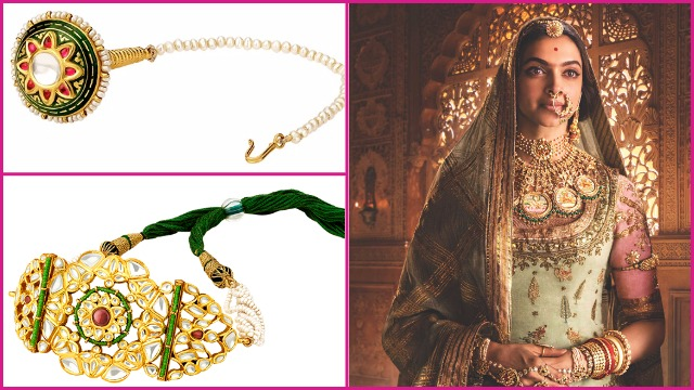 Deepika Padukone aka Rani Padmavati's Royal Jewellery The Padmavati Collection is Available at Tanishq