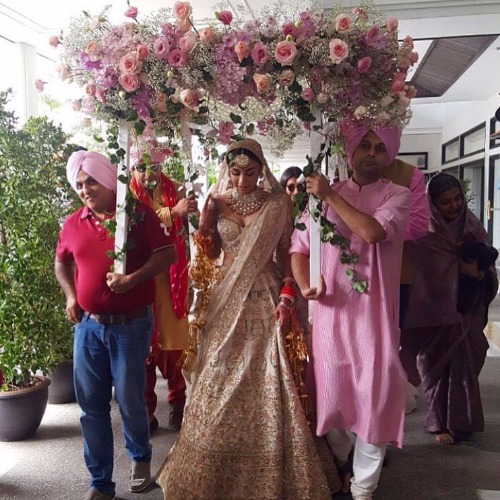 Aisha Actress Amrita Puri destination wedding