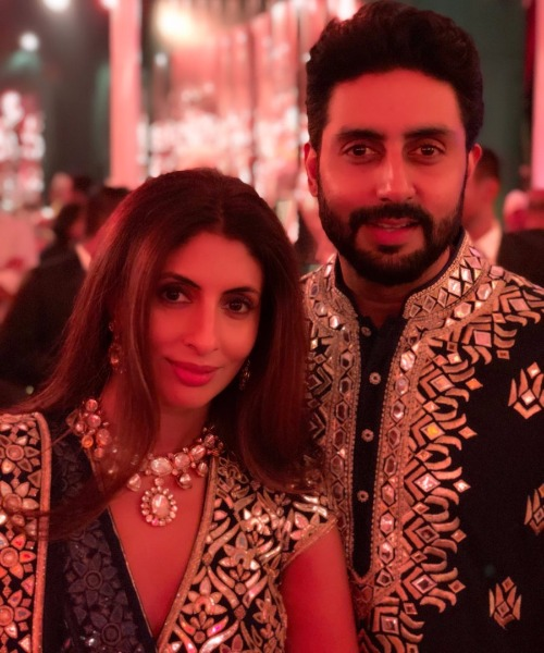 Abhishek Bachchan-Shweta at the wedding