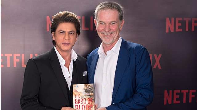 Shah Rukh Khan's Red Chillies Entertainment Collaborate With Netflix For 'Bard Of Blood' Series