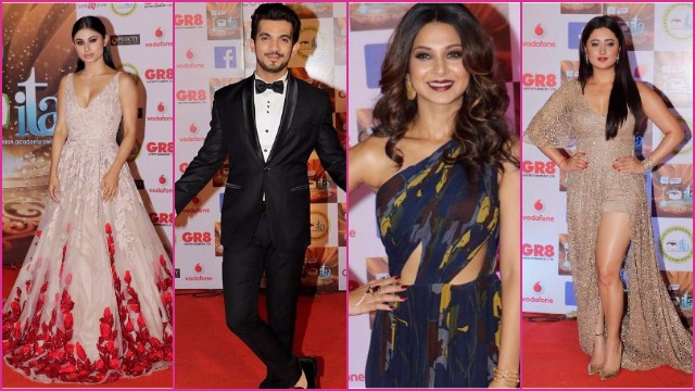 Best Dressed TV Actors Jennifer Winget, Mouni Roy, Adaa Khan, Arjun Bijalni At ITA Awards 2017