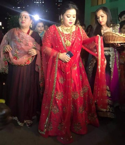 To-Be-Bride Bharti Singh bangle ceremony