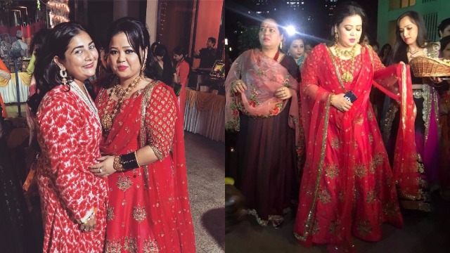Inside Pics: To-Be-Bride Bharti Singh Is Blushing In Neeta Lulla's Outfit At Her Bangle Ceremony