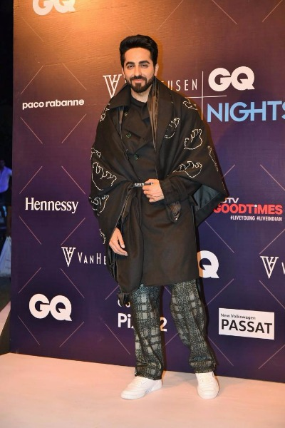 Karan Singh Grover, Ayushmann Khurrana, Anil Kapoor At GQ Fashion Nights 2017