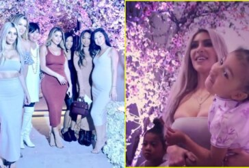 Kim Kardashian, Kanye West Threw Amazing Cherry Blossom Theme Baby Shower For Third Baby
