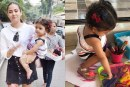 Photos: Shahid Kapoor-Mira Rajput's Adorable Daughter Misha Is Painting The Town Red!