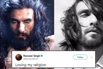 Padmavati's Khilji Ranveer Singh Captioned A Picture 'Losing My Religion', Gets Heavily Trolled