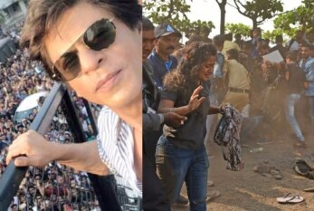 Shah Rukh Khan 52nd Birthday: 30 Mobile Phones and Wallets Stolen Outside Mannat!