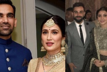 In Pics: Anushka Sharma, Virat Kohli, Sushmita Sen At Sagarika Ghatge, Zaheer Khan's Wedding Reception!