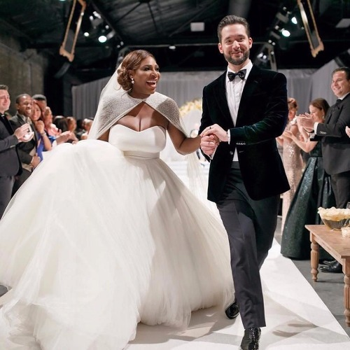 Serena Williams' Fairy-Tale Wedding With Alexis Ohanian