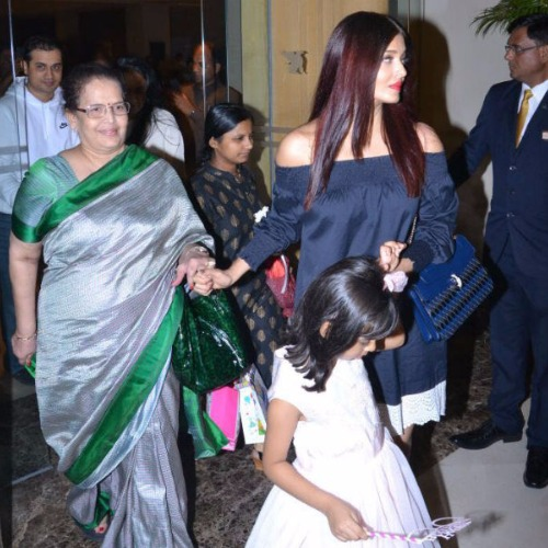 Amitabh Aishwarya, Abhishek at Aaradhya Bachchan's Birthday Party