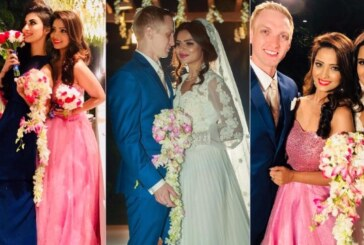 Adaa Khan, Mouni Roy, Karanvir Bohra at TV Actress Aashka Goradia & Brent Goble's Wedding – See Pics