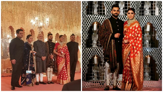 Anushka Sharma, Virat Kohli's Delhi Reception: PM Modi Blessed The Couple With A Lovely Gift
