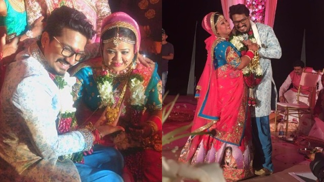 Congratulations! Comedienne Bharti Singh Ties The Knot With Harsh Limbachiyaa – See Pics