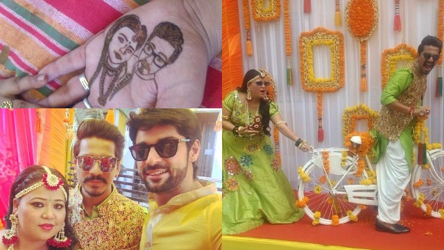 Bharti Singh and Harsh Limbachiyaa's Mehendi Pics Are Full Of Fun, Swag and Poses!