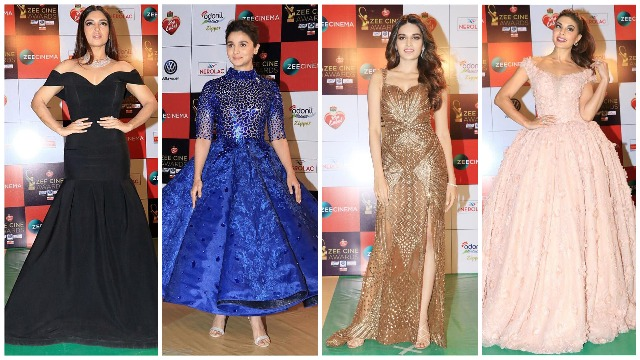 Zee Cine Awards 2018: Alia Bhatt to Bhumi Pednekar, Katrina Kaif To Priyanka – Who Wore What!