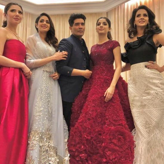 Saba Qamar, Mawra Hocane At Masala Awards in Dubai