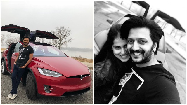 Genelia Gifts A Swanky TESLA SUV to Hubby Riteish Deshmukh On His 40th Birthday
